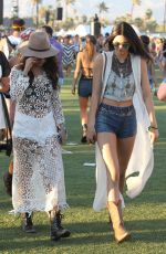 KENDALL JENNER Out and About in Coachella