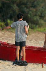 KIM KARDASHIAN in Bikini on a Photoshoot in Thailand