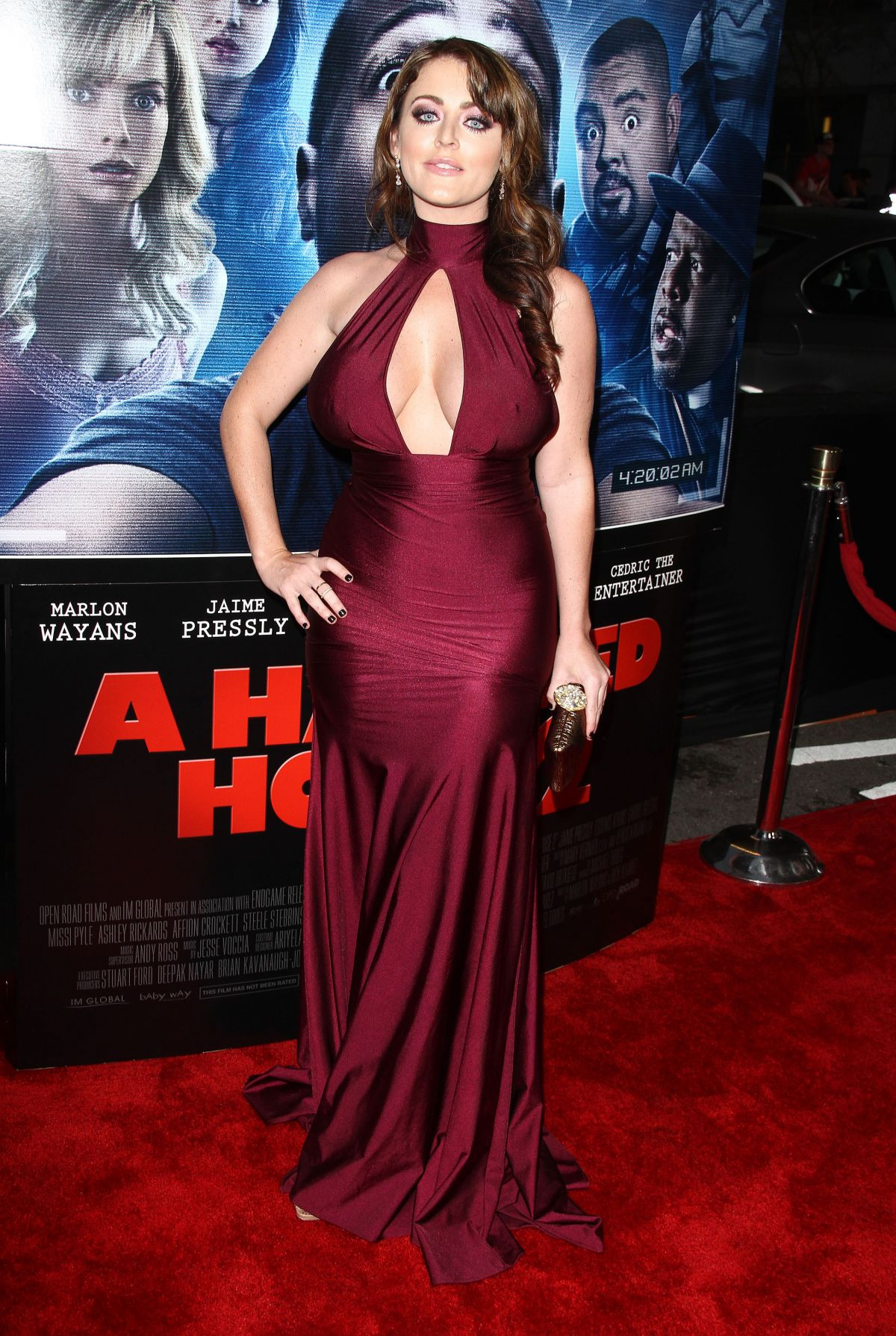 KIRSTY HILL at A Haunted House 2 Premiere in Los Angeles