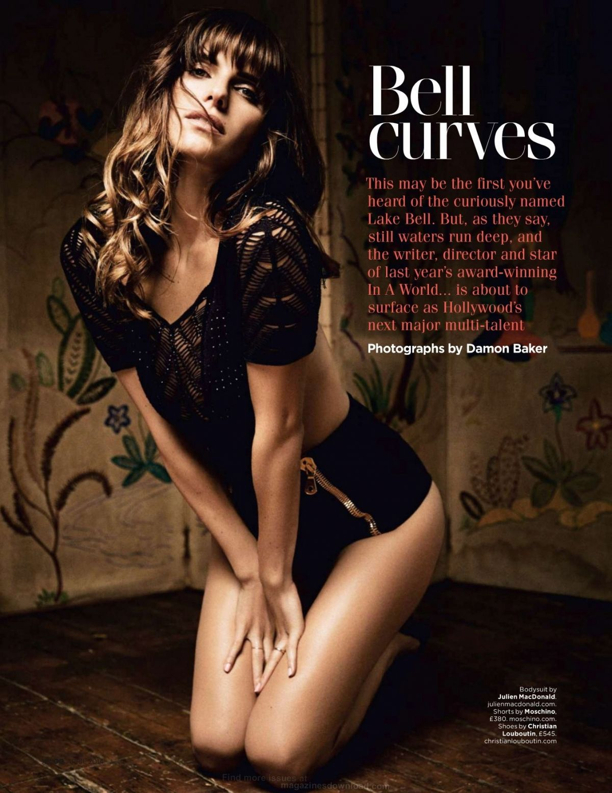 Lake Bell In Gq Magazine April 2014 Issue Hawtcelebs