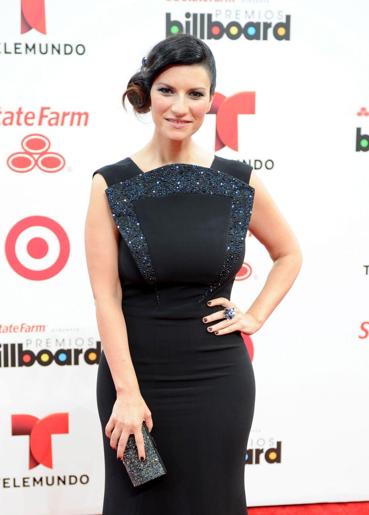 LAURA PAUSINI at 2014 Billboard Latin Music Awards in Miami