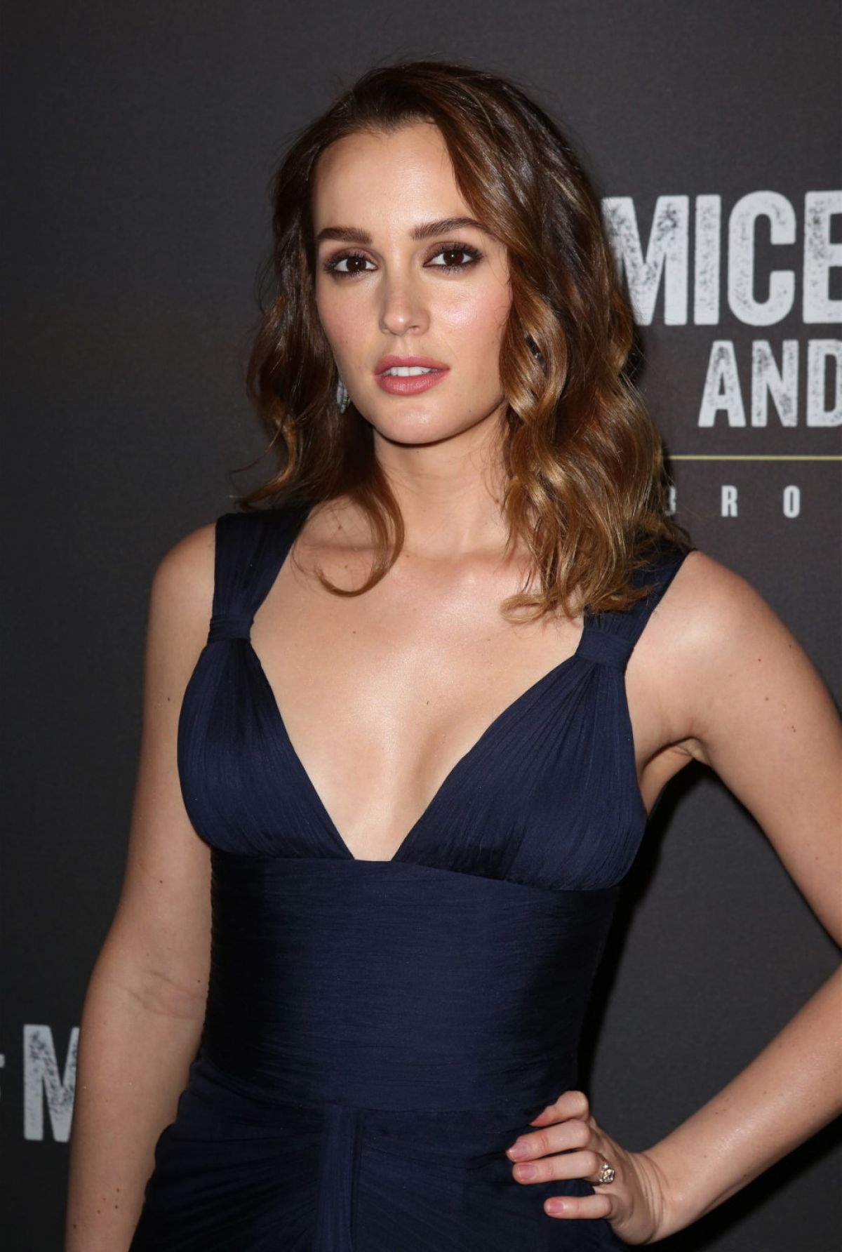Leighton Meester Images Fashion Magazine Hd Wallpaper And: LEIGHTON MEESTER At Of Mice And Men Broadway Opening Night