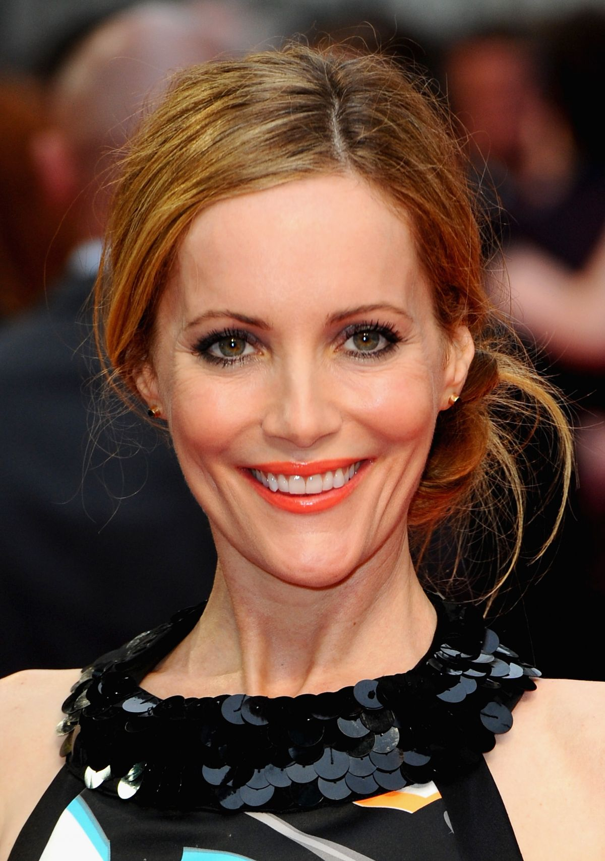 LESLIE MANN at The Other Woman Premiere in London - HawtCelebs