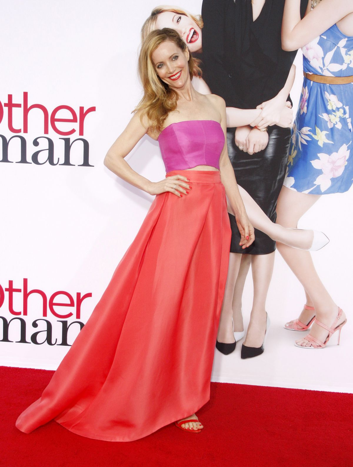 LESLIE MANN at The Other Woman Premiere in Westwood