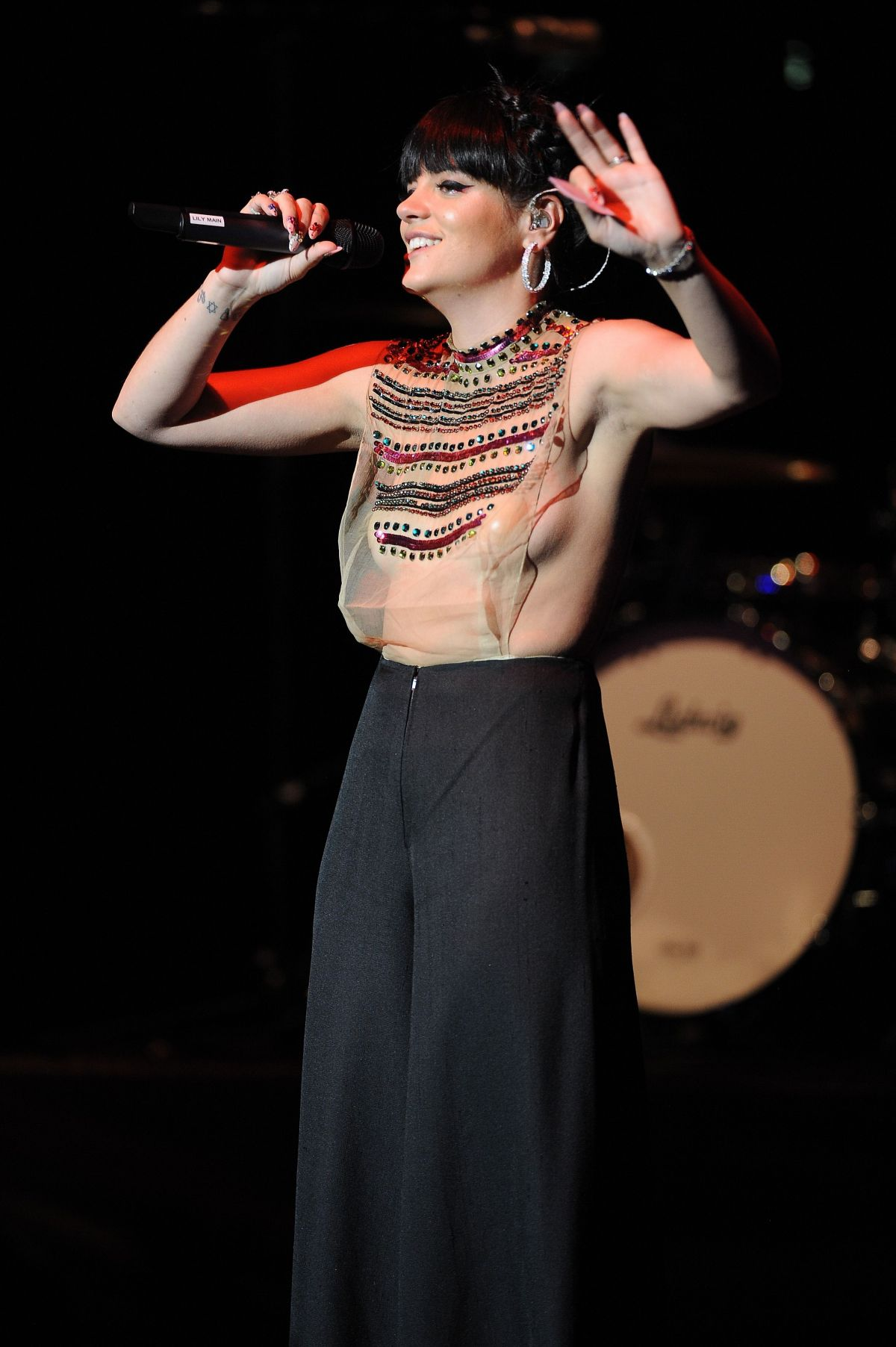 LILY ALLEN Performs at City Rocks in London