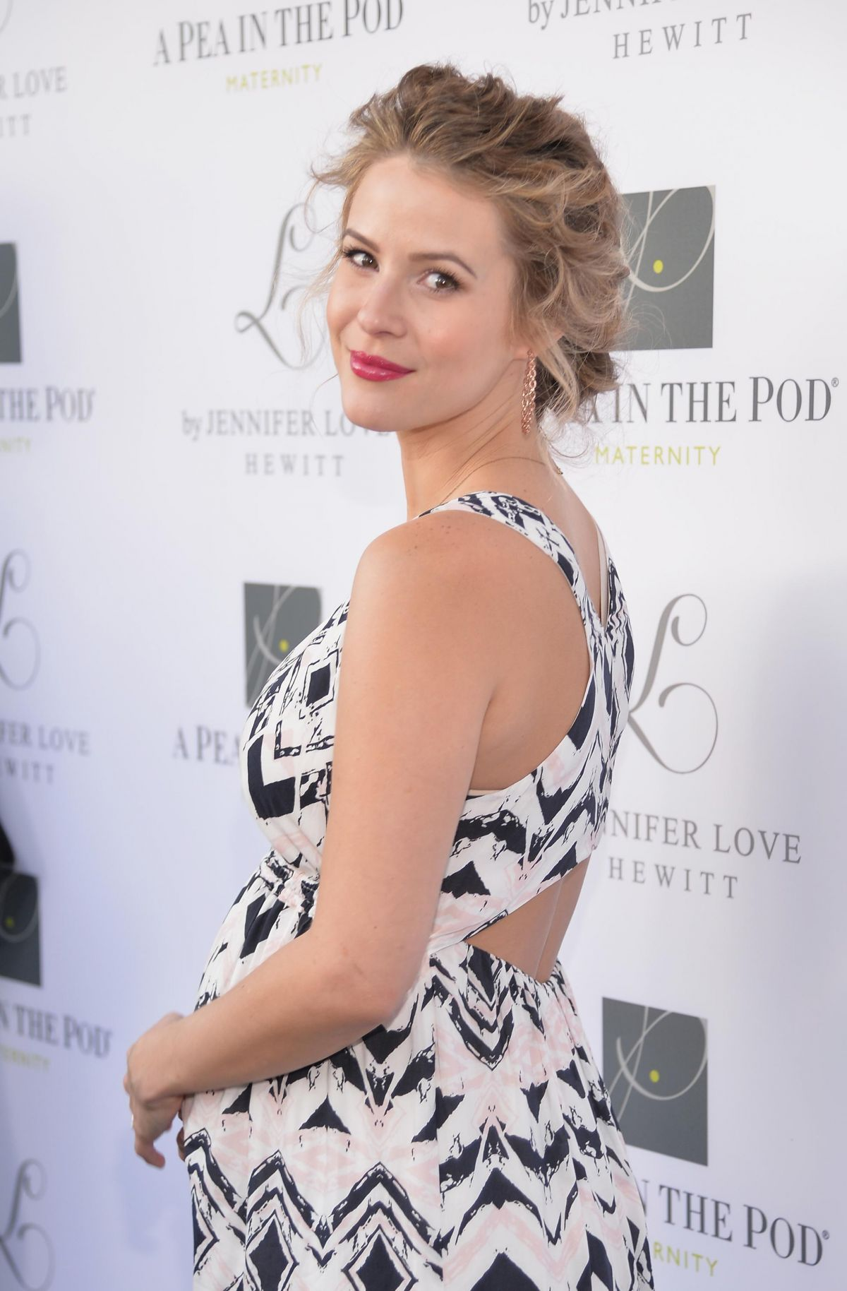 LINSEY GODFREY at Launch of L by Jennifer Love Hewitt in Beverly Hills