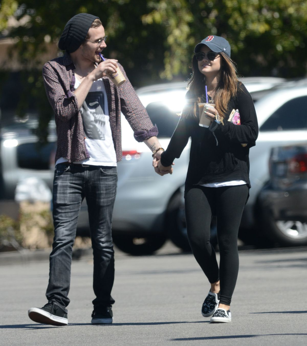 Lucy Hale with Boyfriend Joel Crouse
