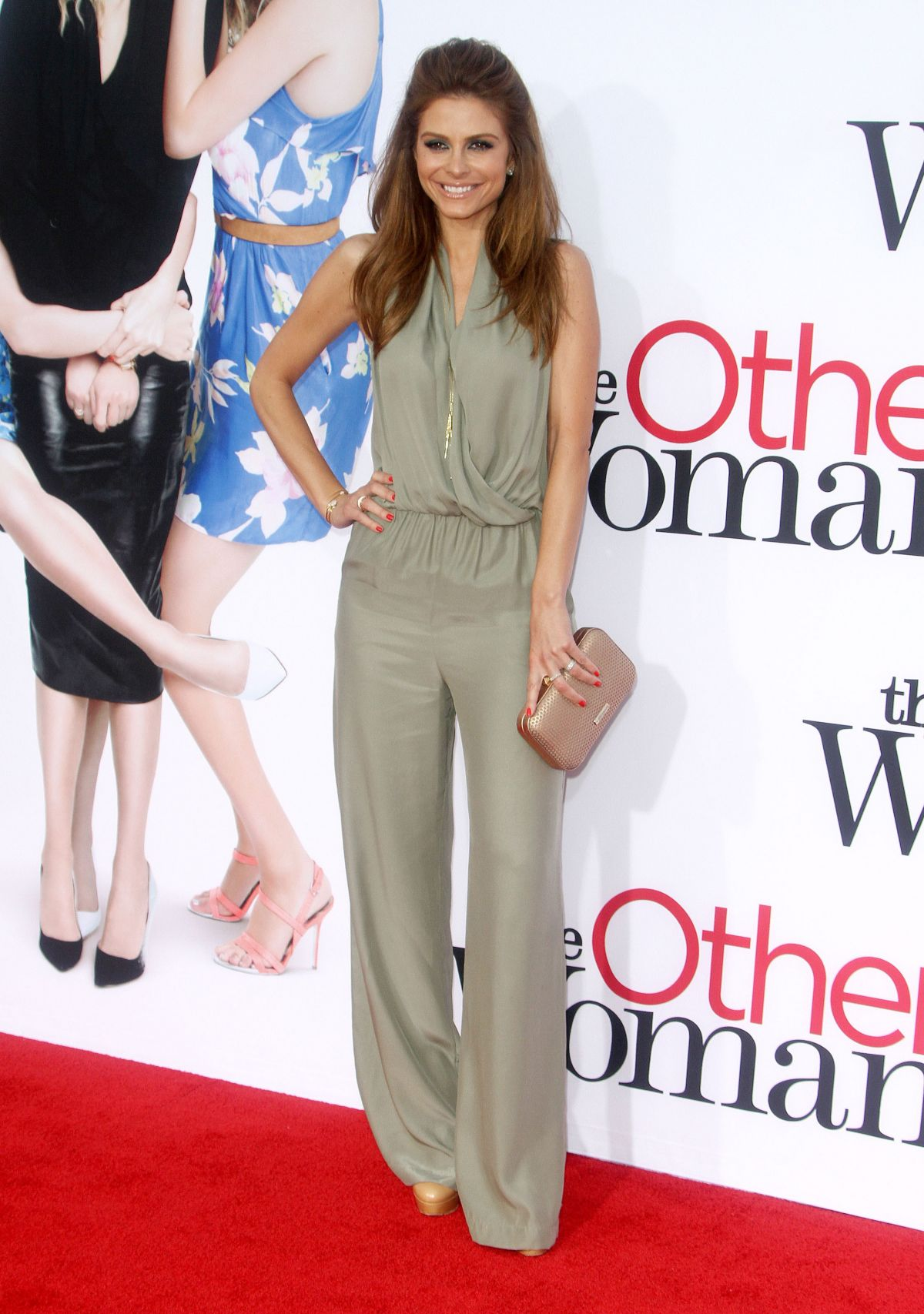 MARIA MENOUNOS at The Other Woman Premiere in Westwood