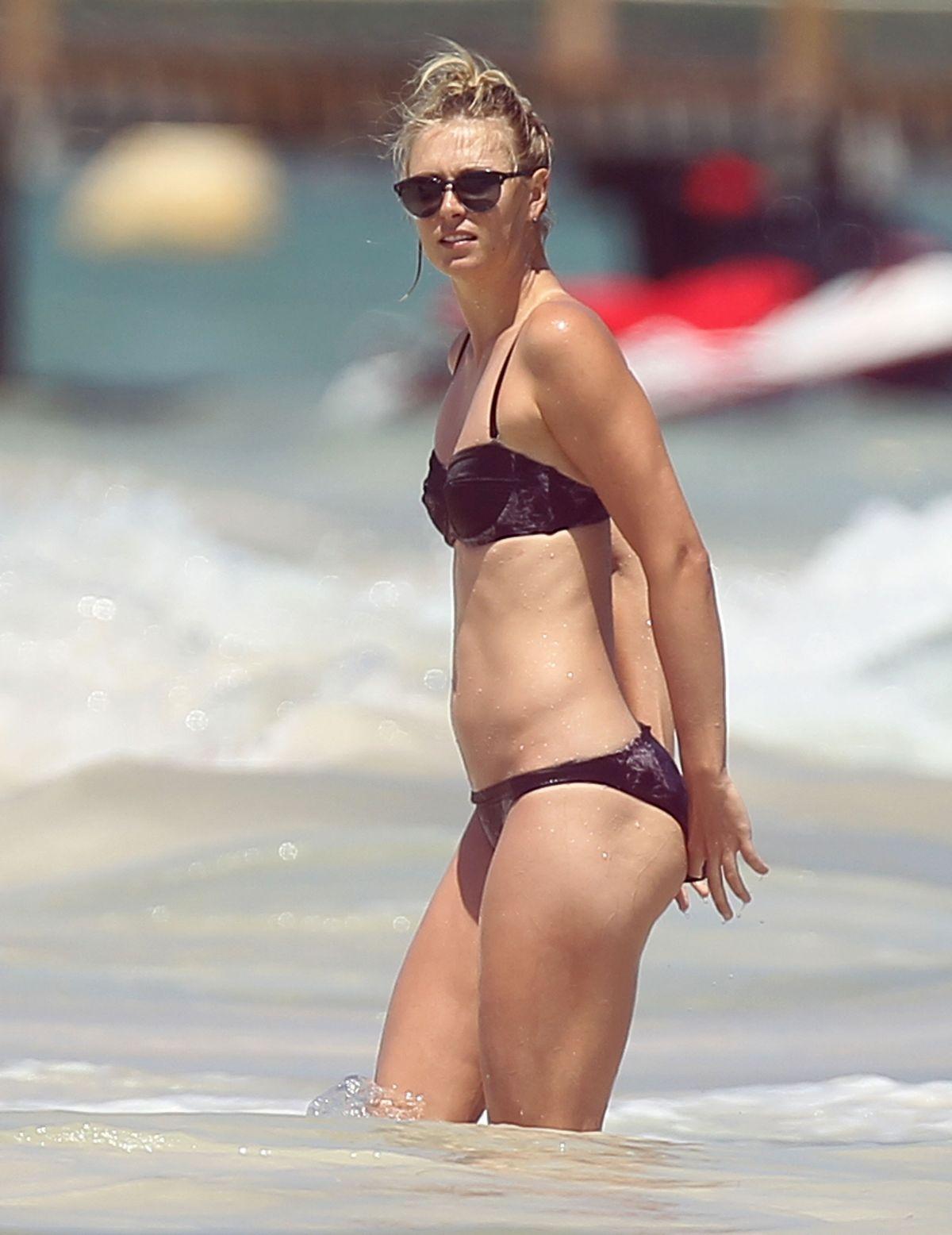 MARIA SHARAPOVA in Bikini on the Beach in Cancun  : maria sharapova in bikini on the beach in cancun18 from www.hawtcelebs.com size 1200 x 1556 jpeg 132kB