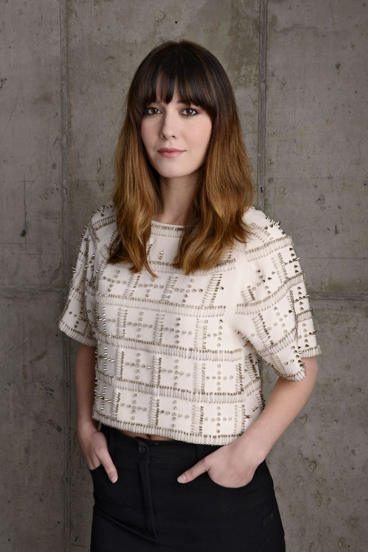 MARY ELIZABETH WINSTEAD at Tribeca Film Festival 2014 Portrait Studio