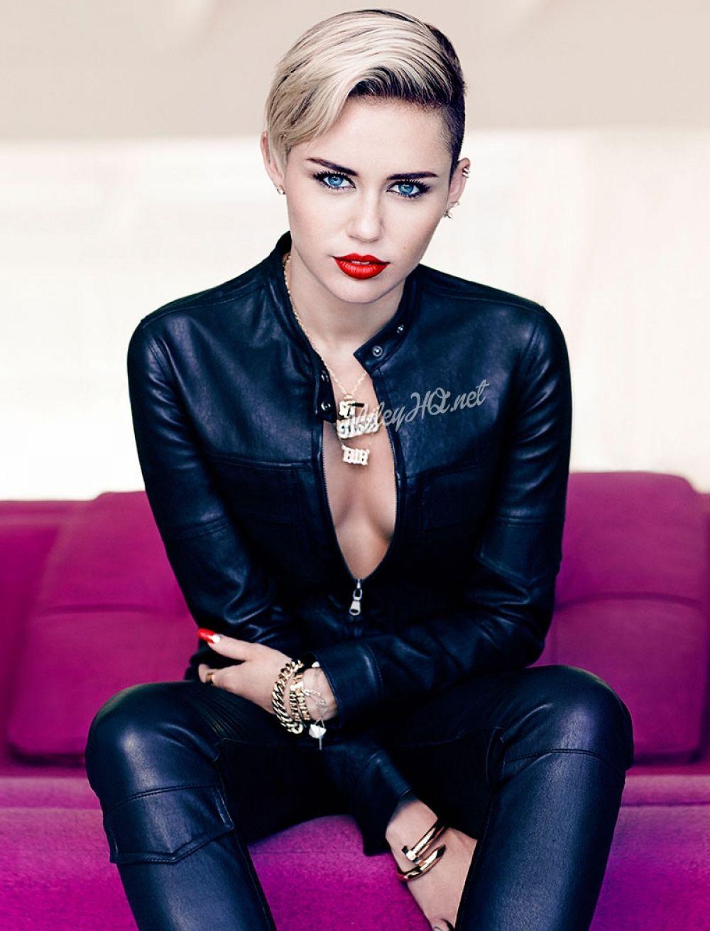 Miley Cyrus Fashion Magazine Photoshoot Hawtcelebs
