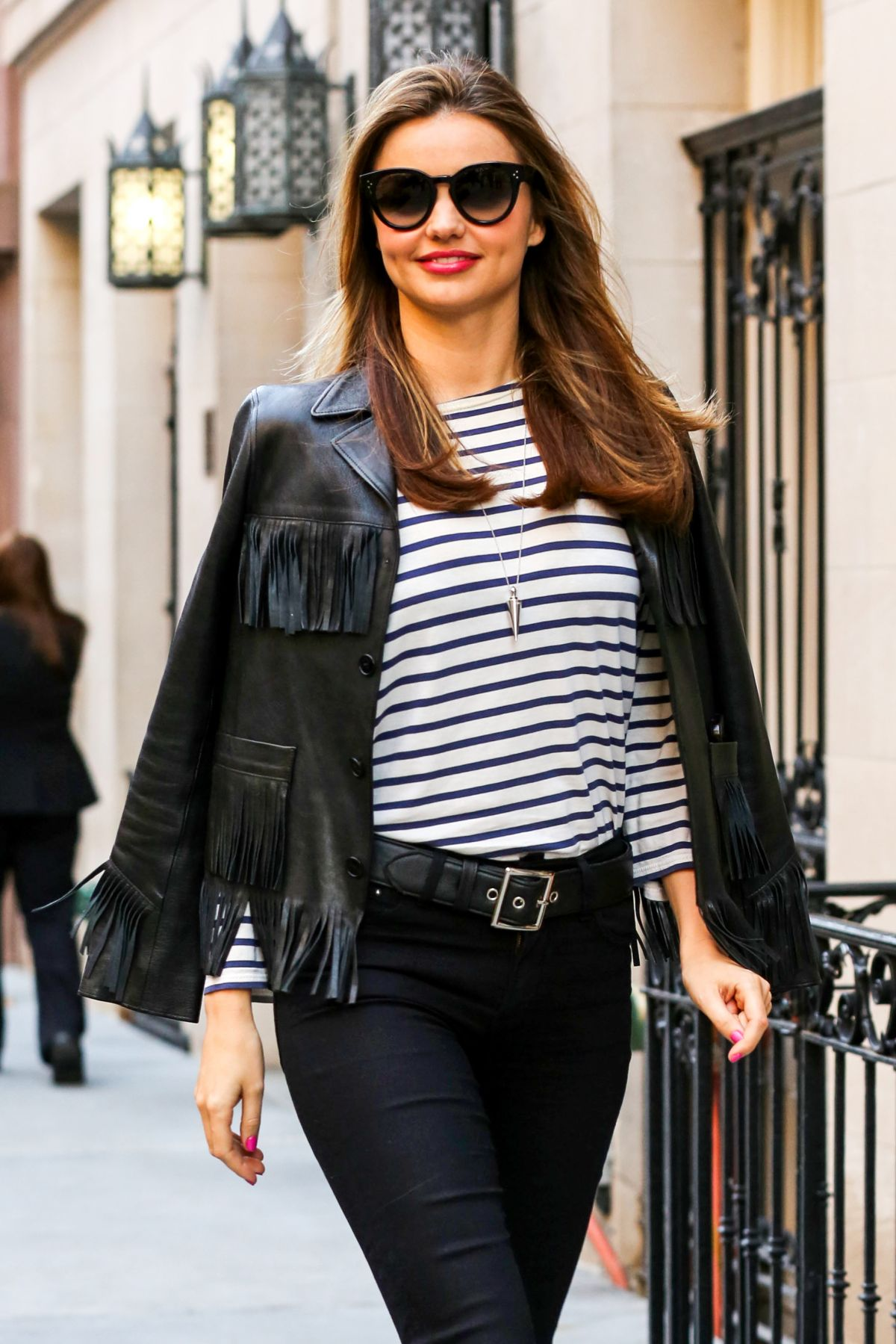 MIRANDA KERR at a Commercial Photoshoot in New York