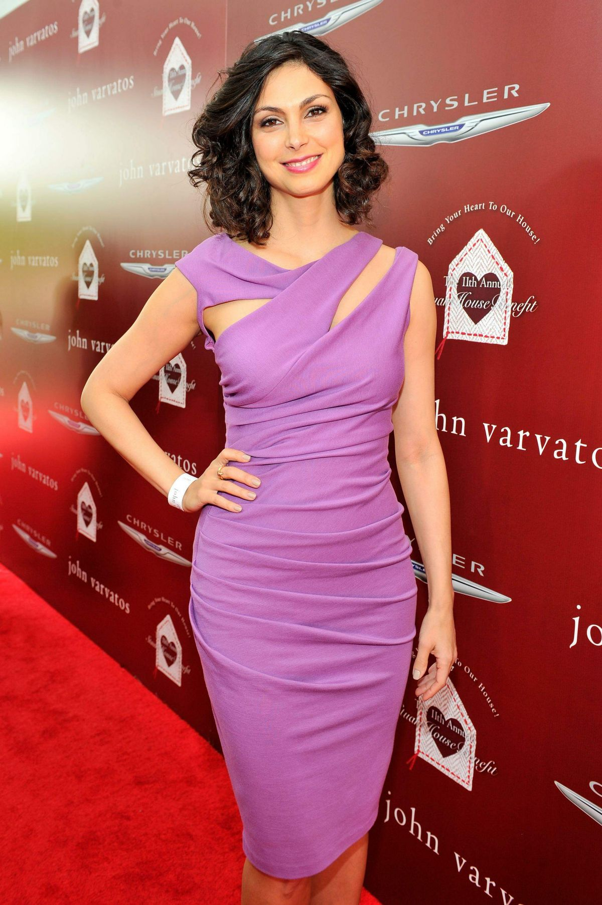 MORENA BACCARIN at John Varvatos 11th Annual Stuart House Benefit in West Hollywood