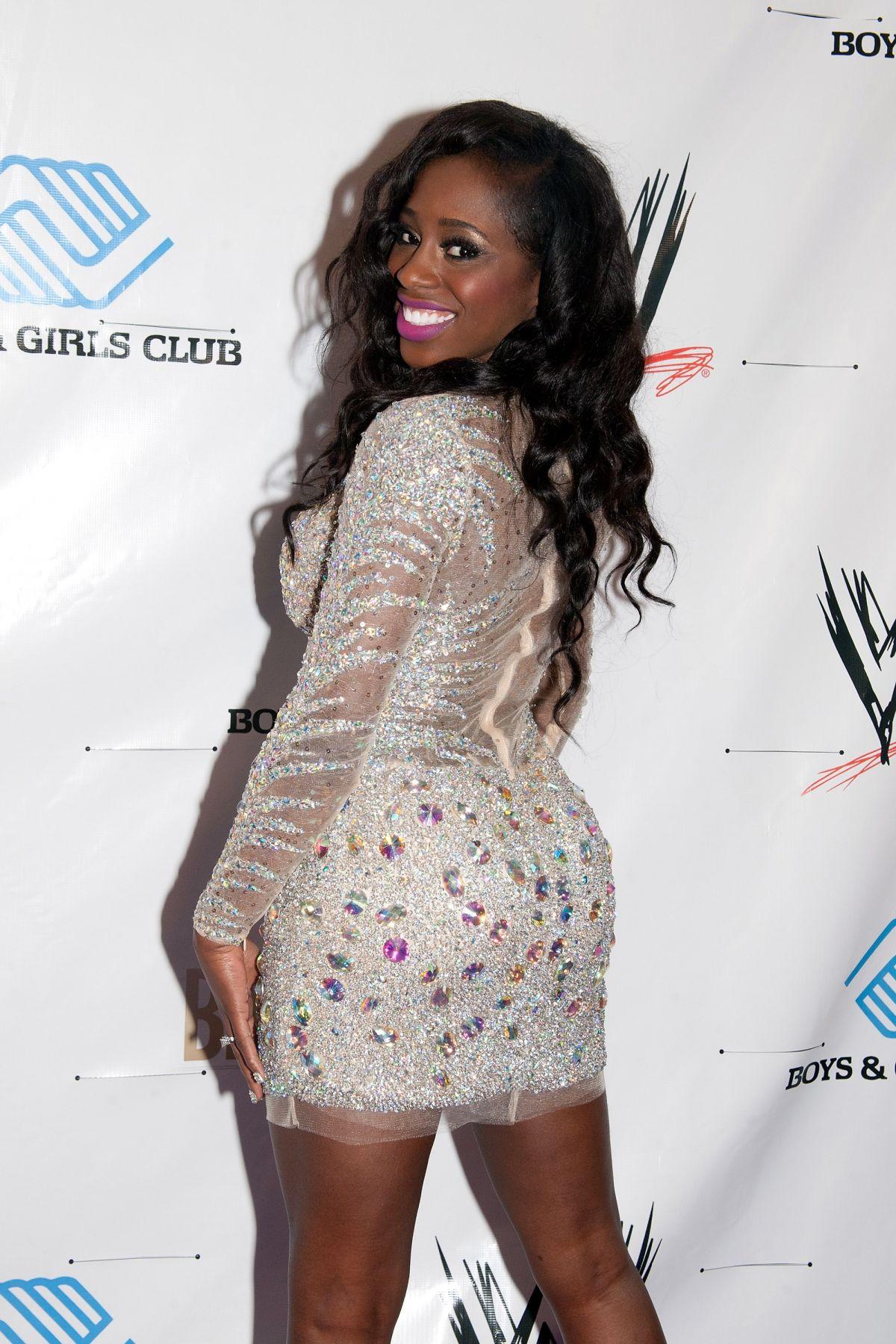 NAOMI (TRINITY MCCRAY) at WWE