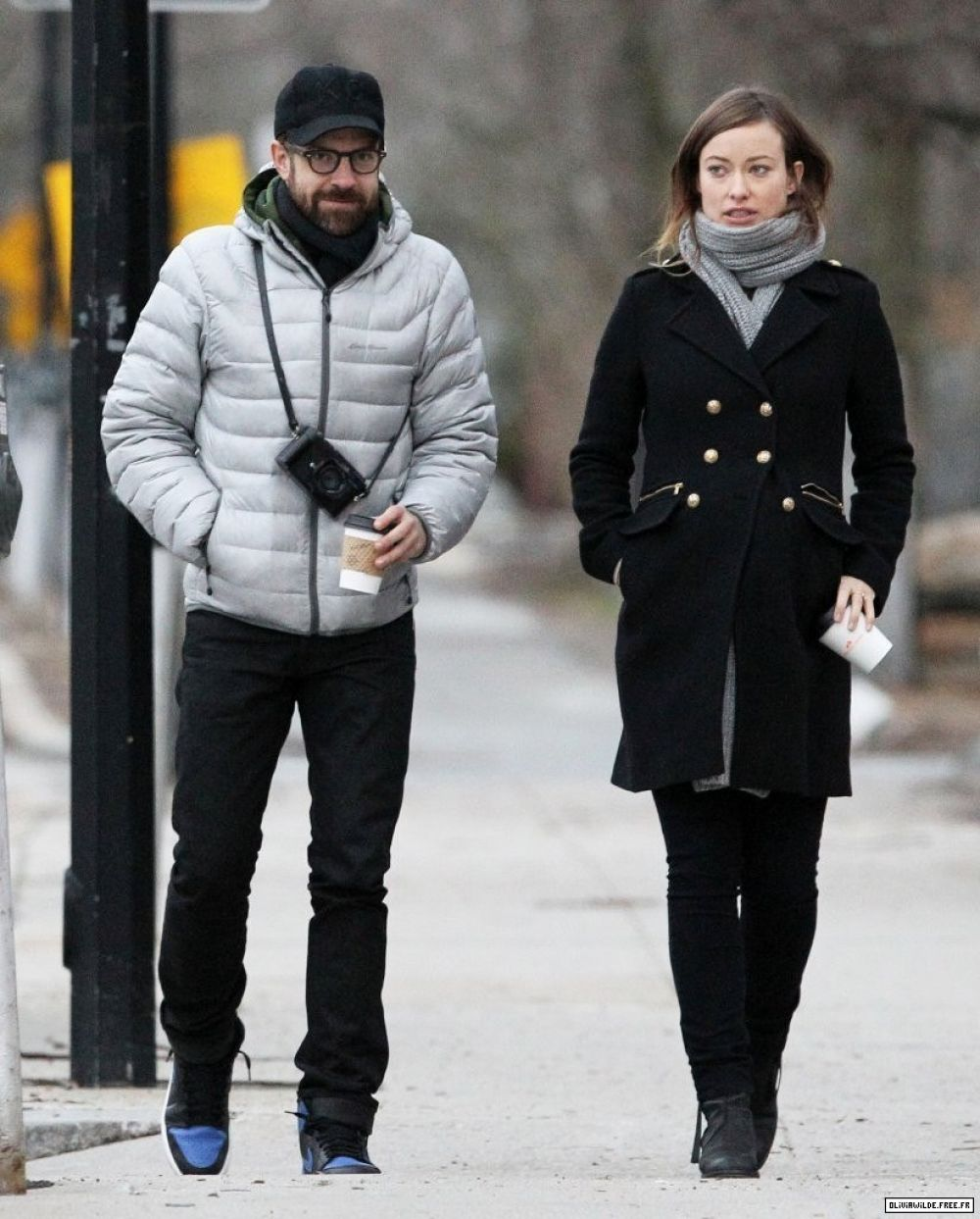OLIVIA WILDE Out and About in Boston