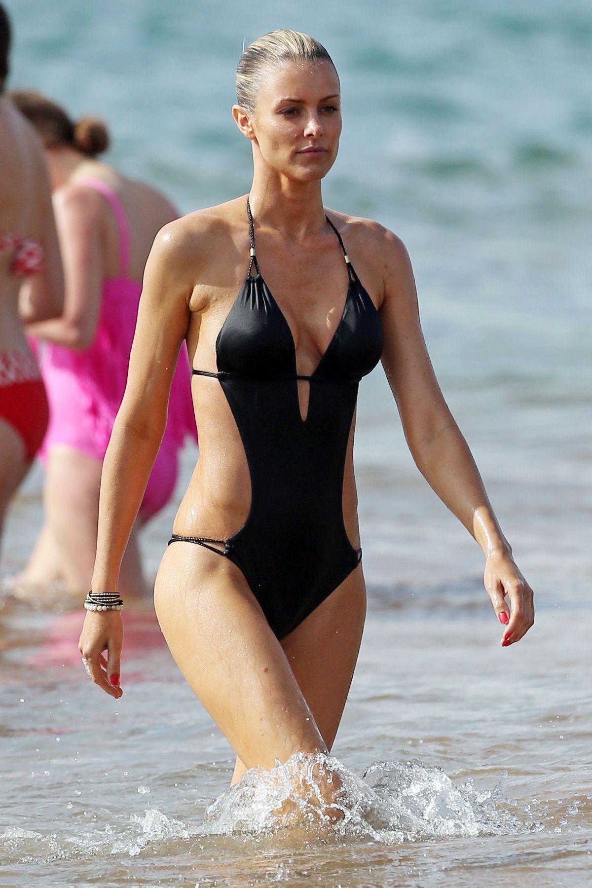Paige Butcher Swimsuit Beach Maui Demi Lovato Boston
