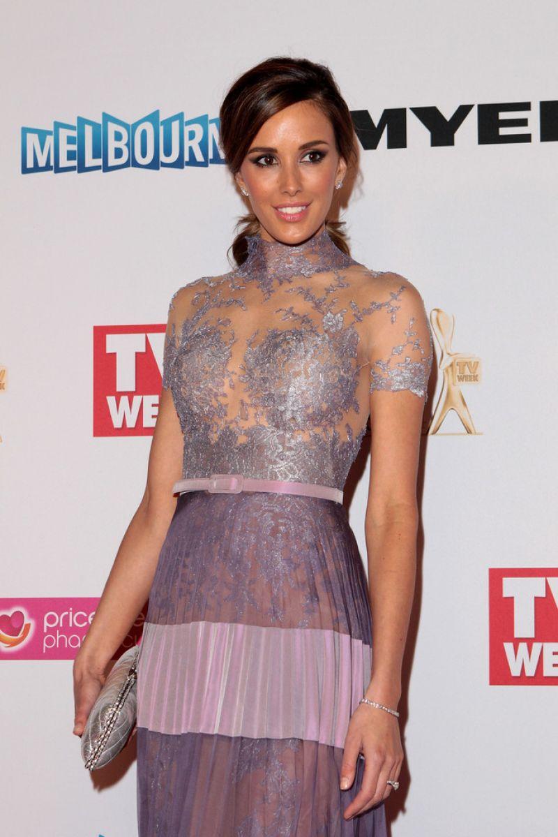 REBECCA JUDD at 2014 Logie Awards in Melbourne