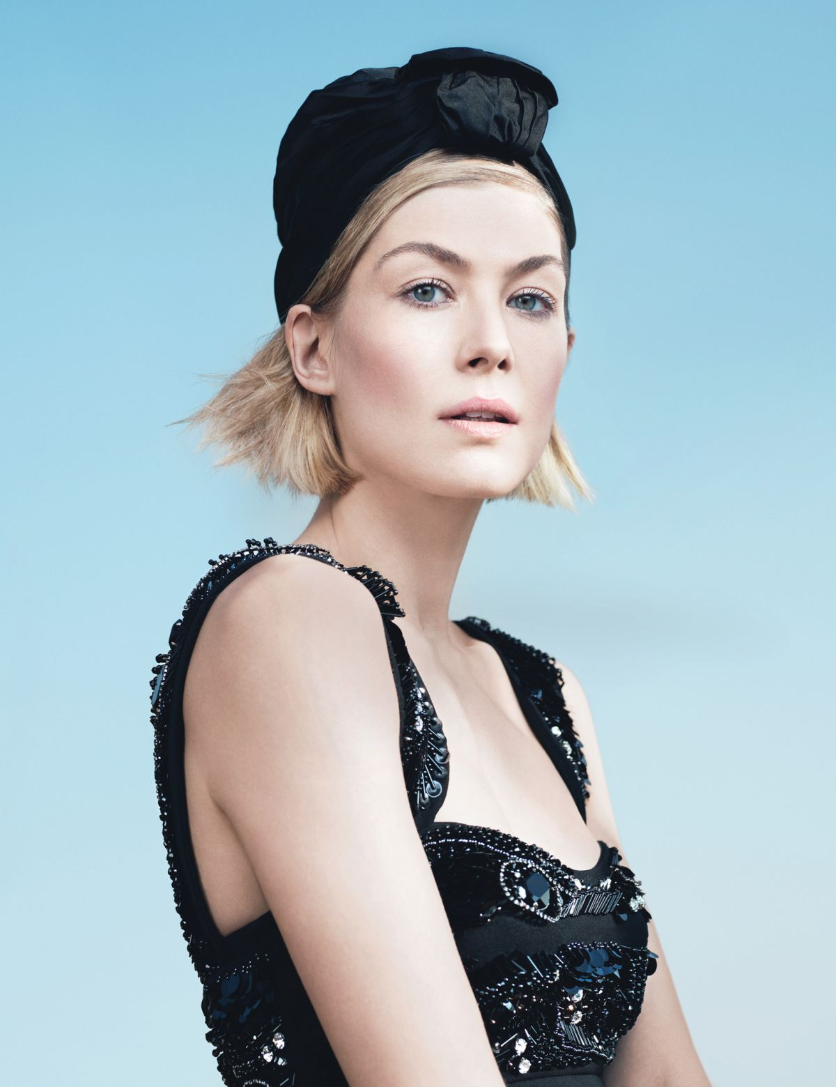 ROSAMUND PIKE in W Magazine, May 2014 Issue – HawtCelebsRosamund Pike 2014