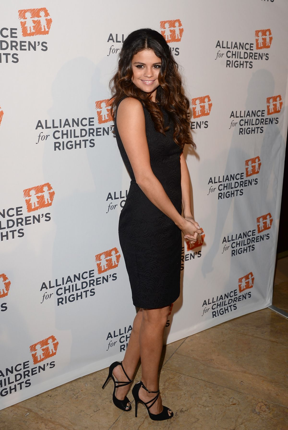 SELENA GOMEZ at the Alliance for Children's Right Dinner