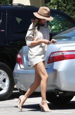 SELENA GOMEZ Out and About in Woodland Hills