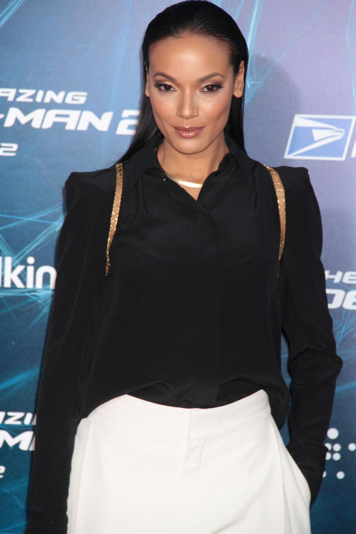 SELITA EBANKS at The Amazing Spider-man 2 Premiere in New York