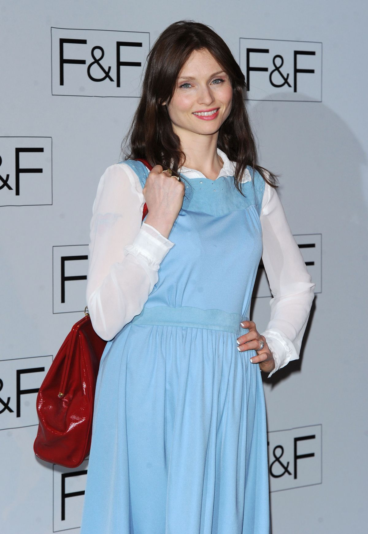 SOPHIE ELLIS-BEXTOR at F&F 2014 Fashion Show in London
