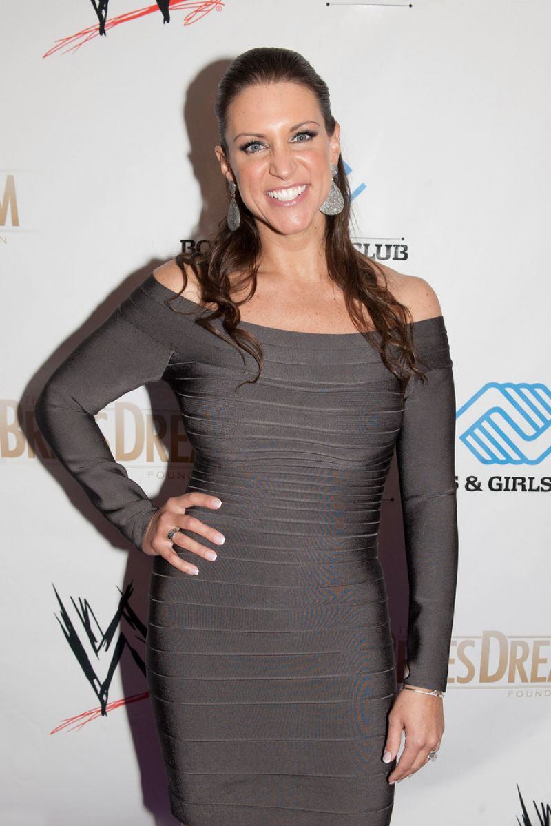 STEPHANIE MCMAHON at WWE's 2014 Superstars for Kids