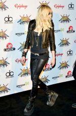 TAYLOR MOMSEN at 2014 Revolver Golden Gods Awards in Los Angeles