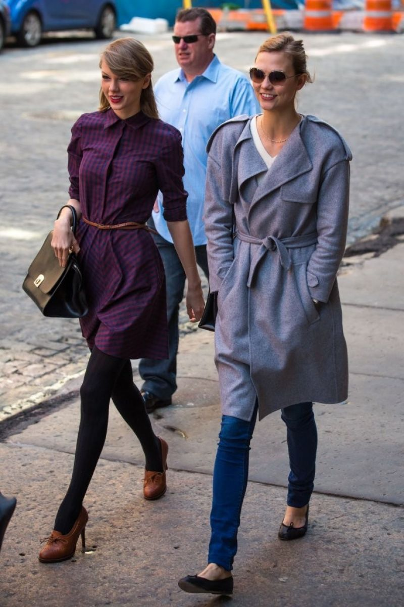TAYLOR SWIFT and KARLIE KLOSS Out and About in New York ...