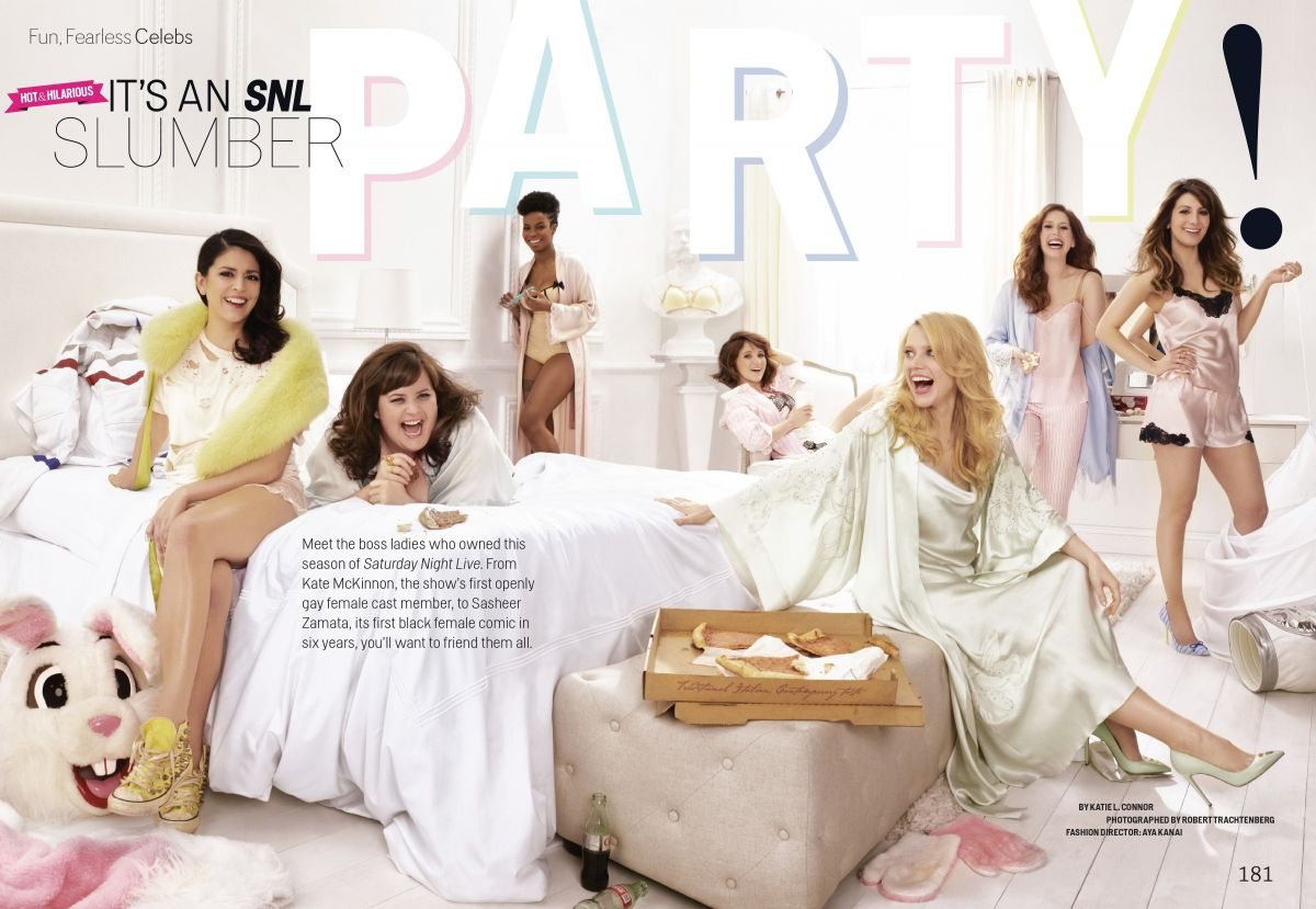 The Women of SNL in Cosmopolitan Magazine, May 2014 Issue