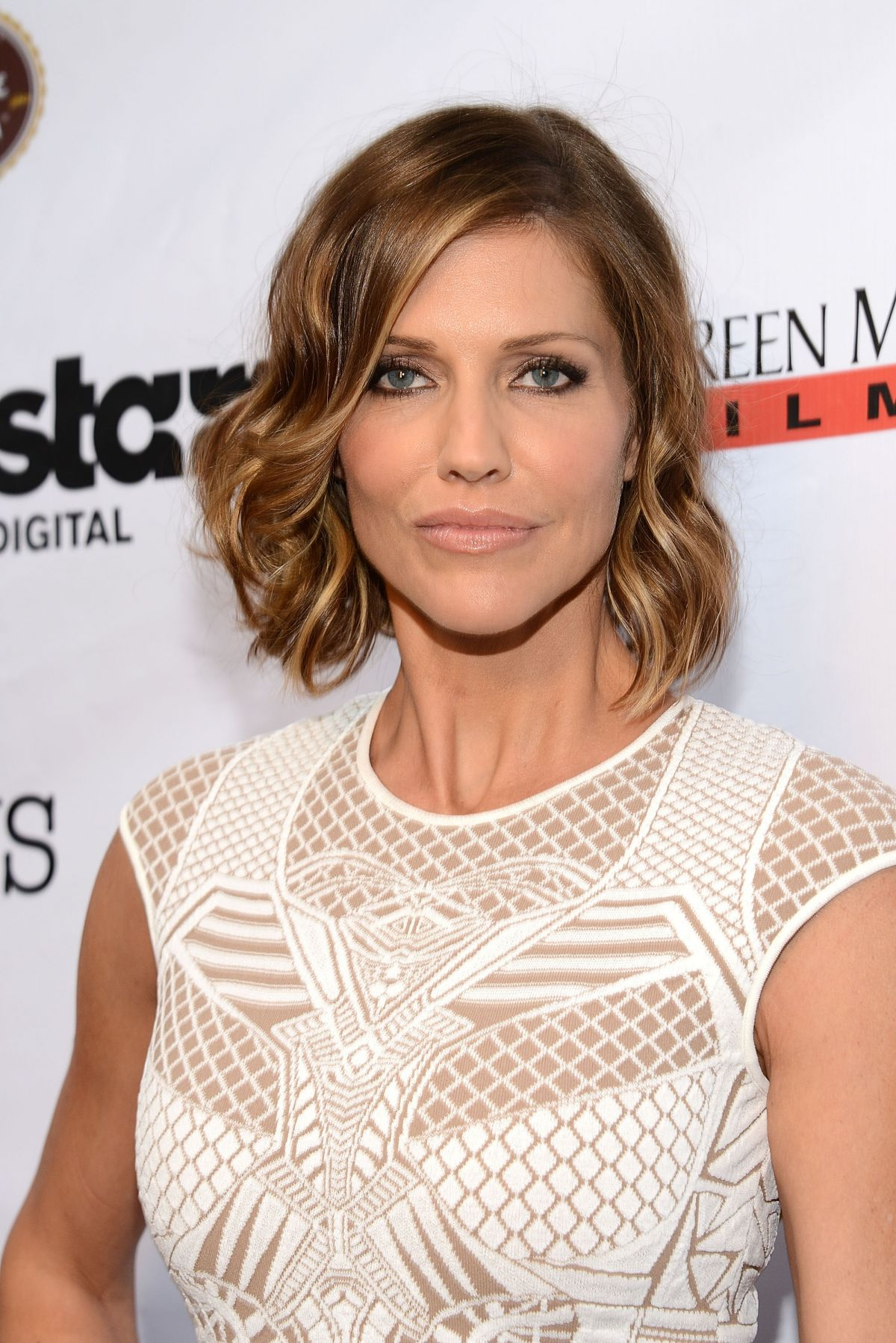 TRICIA HELFER at Authors Anonymous Premiere in Los Angeles