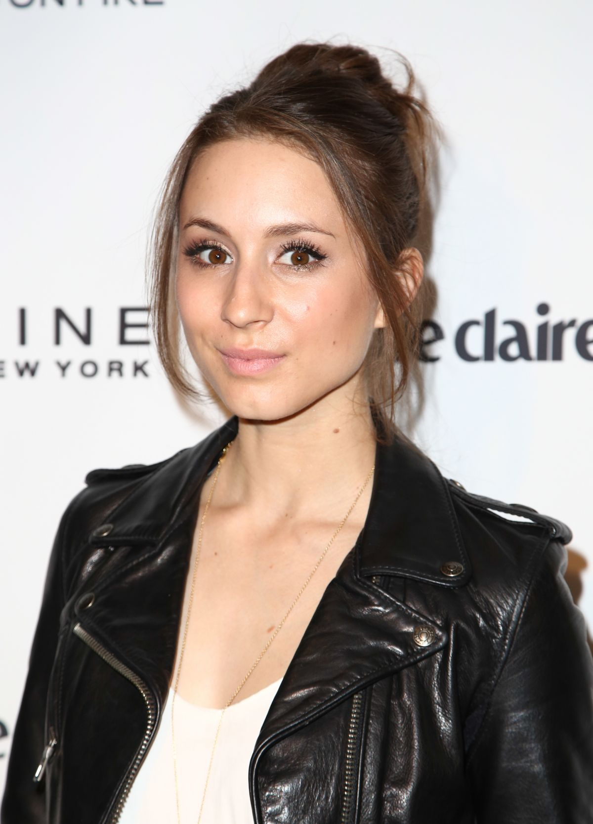 TROIAN BELLISARIO at Marie Claire Celebrates May Cover Stars in Hollywood