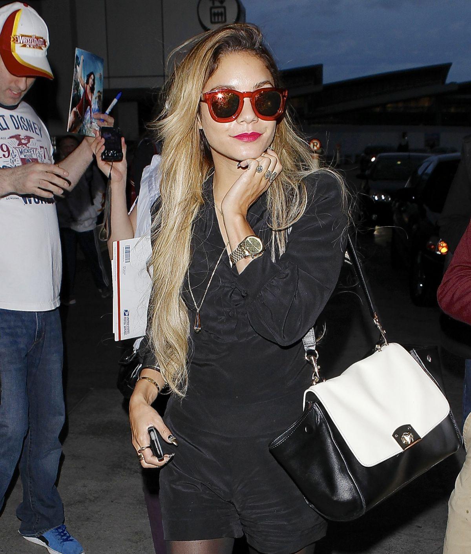VANESSA HUDGENS at LAX Airport in Los Angeles 2504
