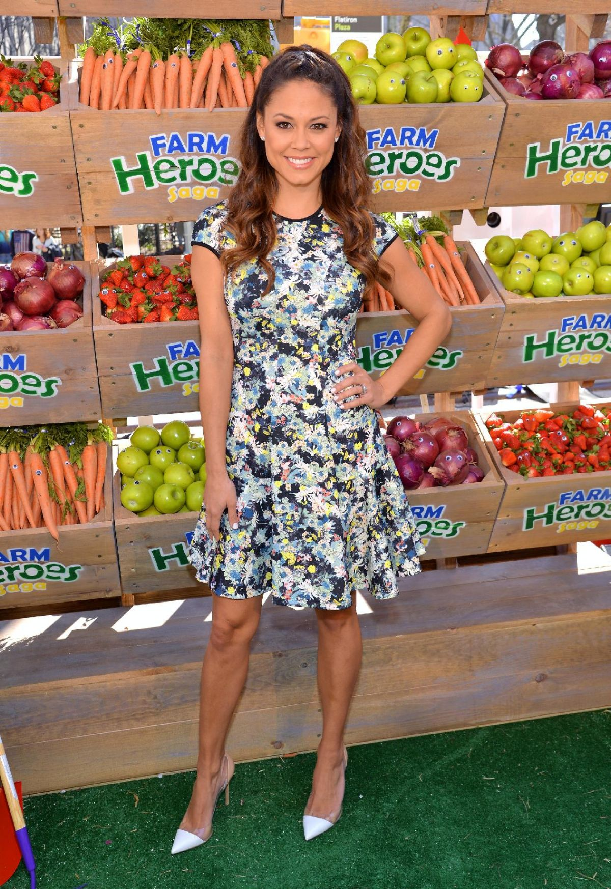 VANESSA MINNILLO at Beafarmhero Spring Campaign in Ner York