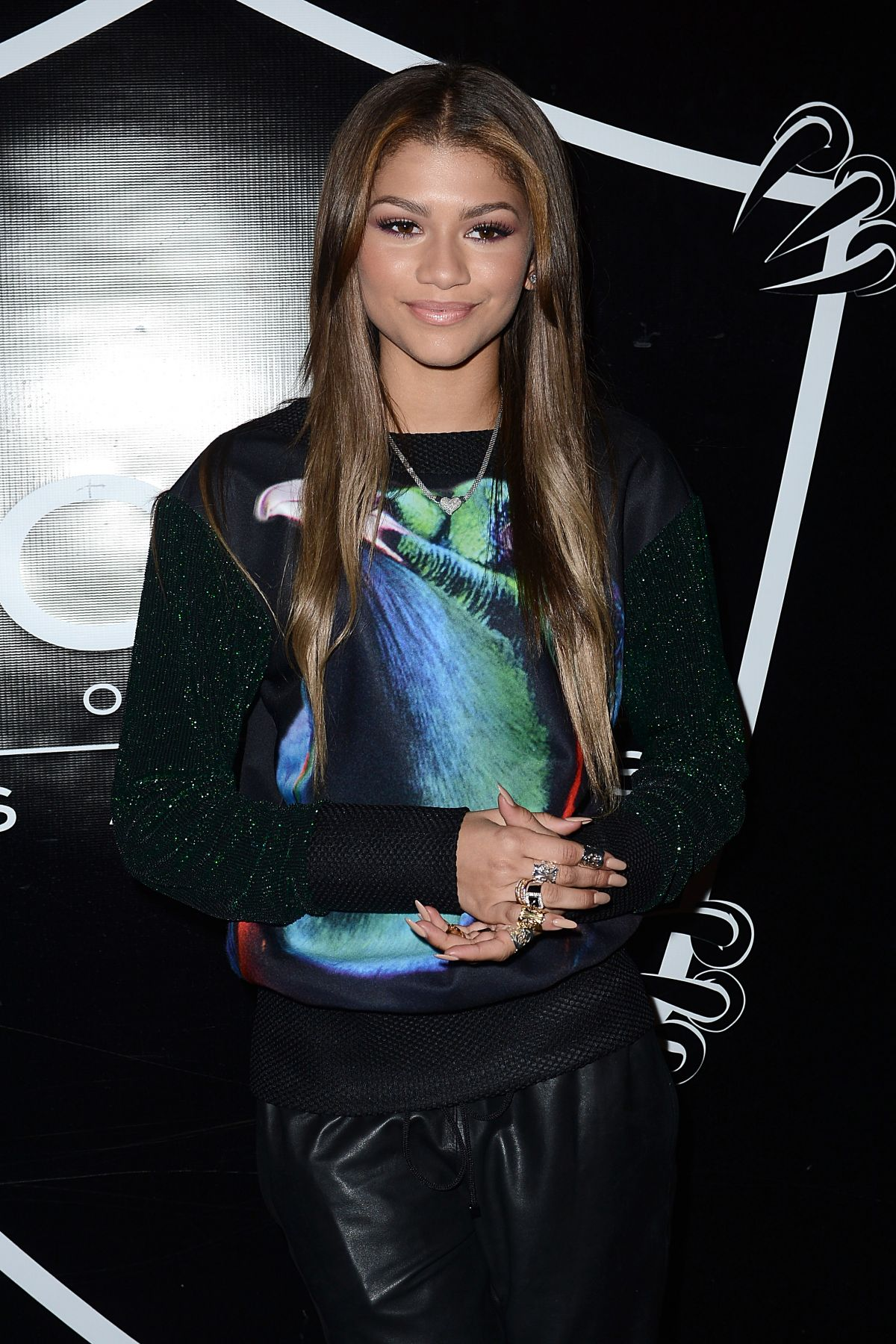 Zendaya Coleman At Christian Combs Sixteenth Birthday