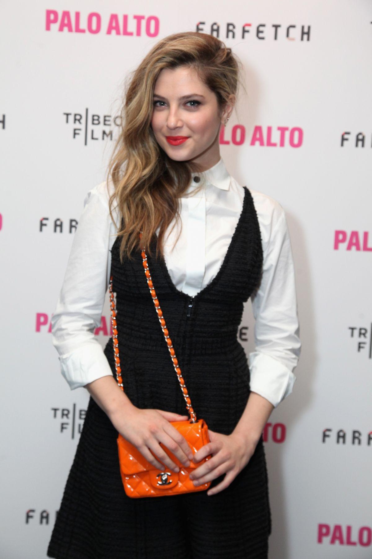 ZOE LEVIN at Palo Alto Premiere at Tribeca Film Festival