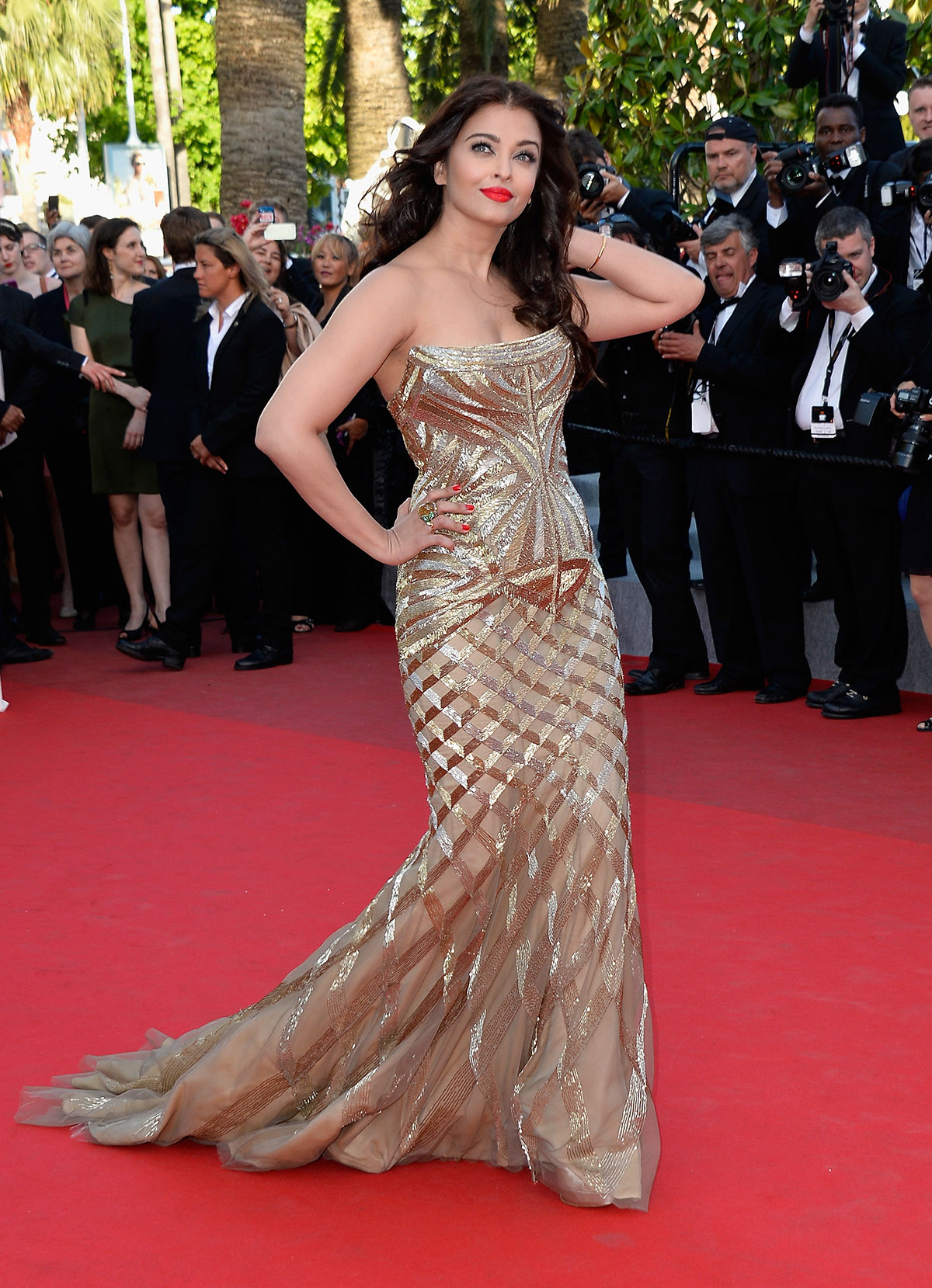 Aishwarya Rai Bachchan's Cannes Film Festival 2014 Looks ... |Aishwarya Rai 2014 March
