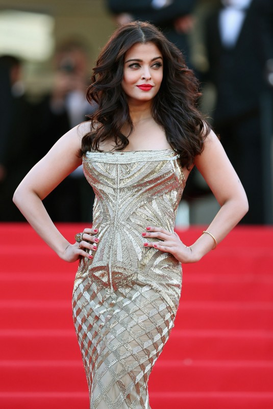AISHWARYA RAI at Two Days, One Night Premiere
