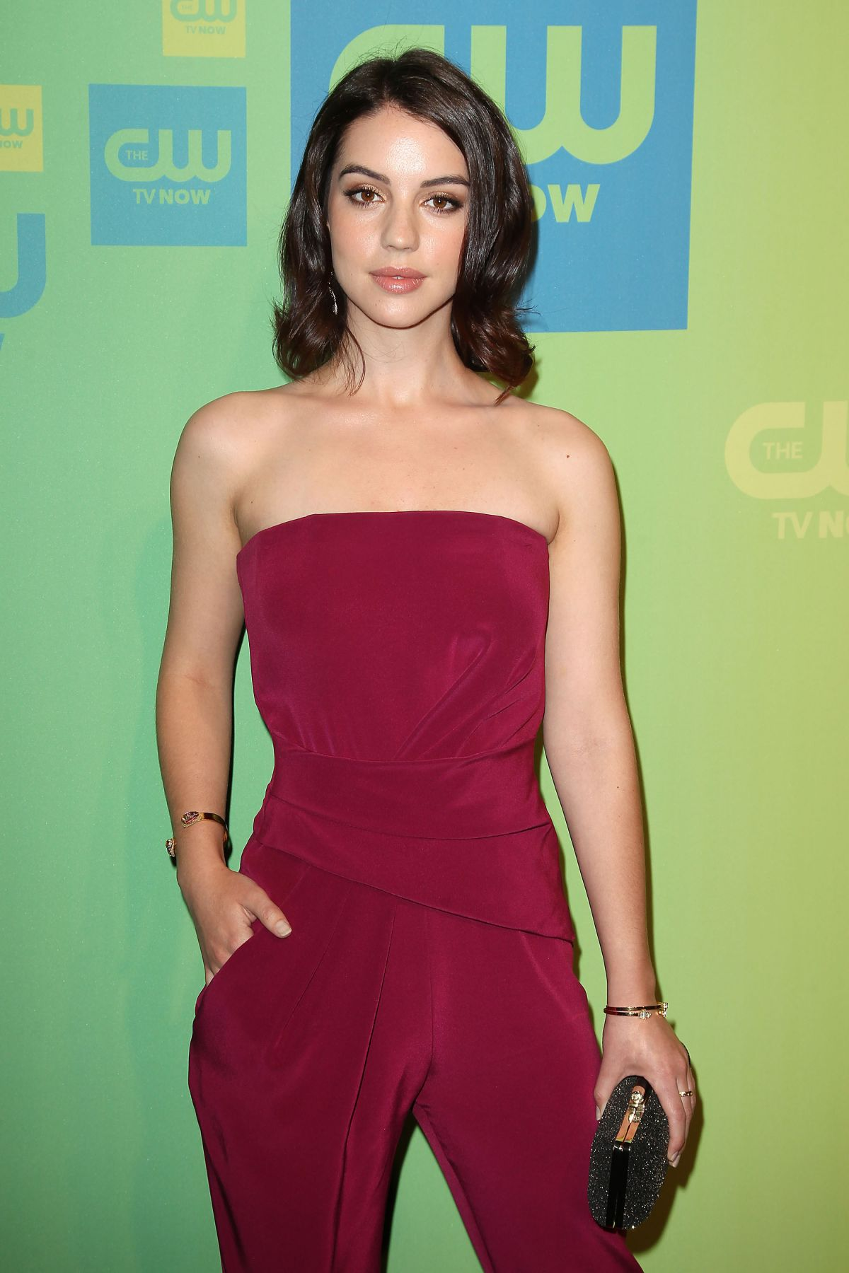 ADELAIDE KANE at CW Upfronts Presentation in New York