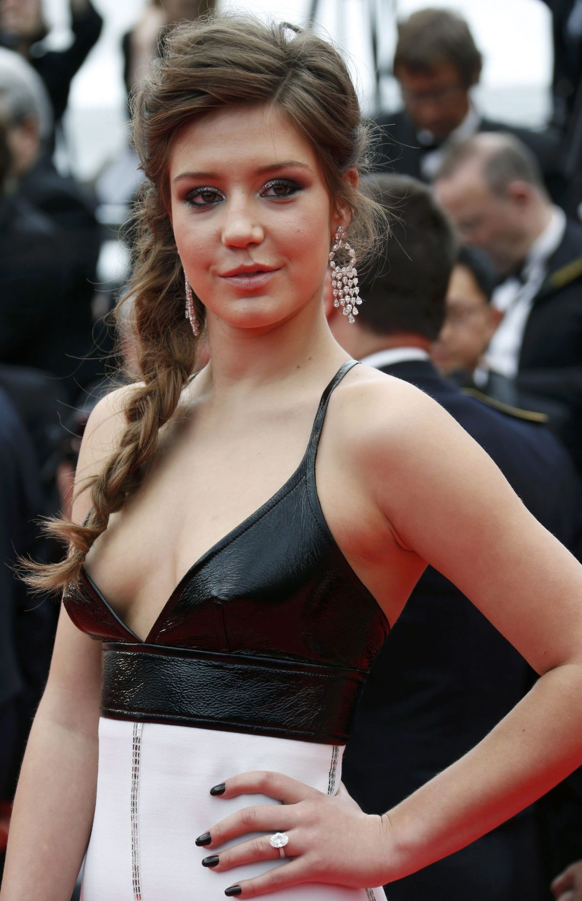 ADELE EXARCHOPOULOS at Cannes Film Festival 2014