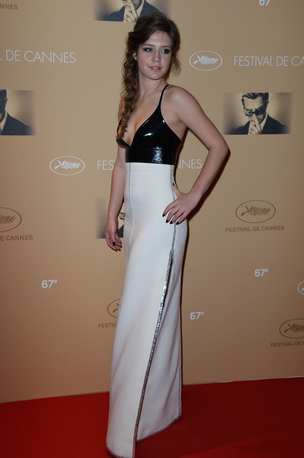 ADELE EXARCHOPOULOS at Cannes Film Festival Opening Ceremony Dinner