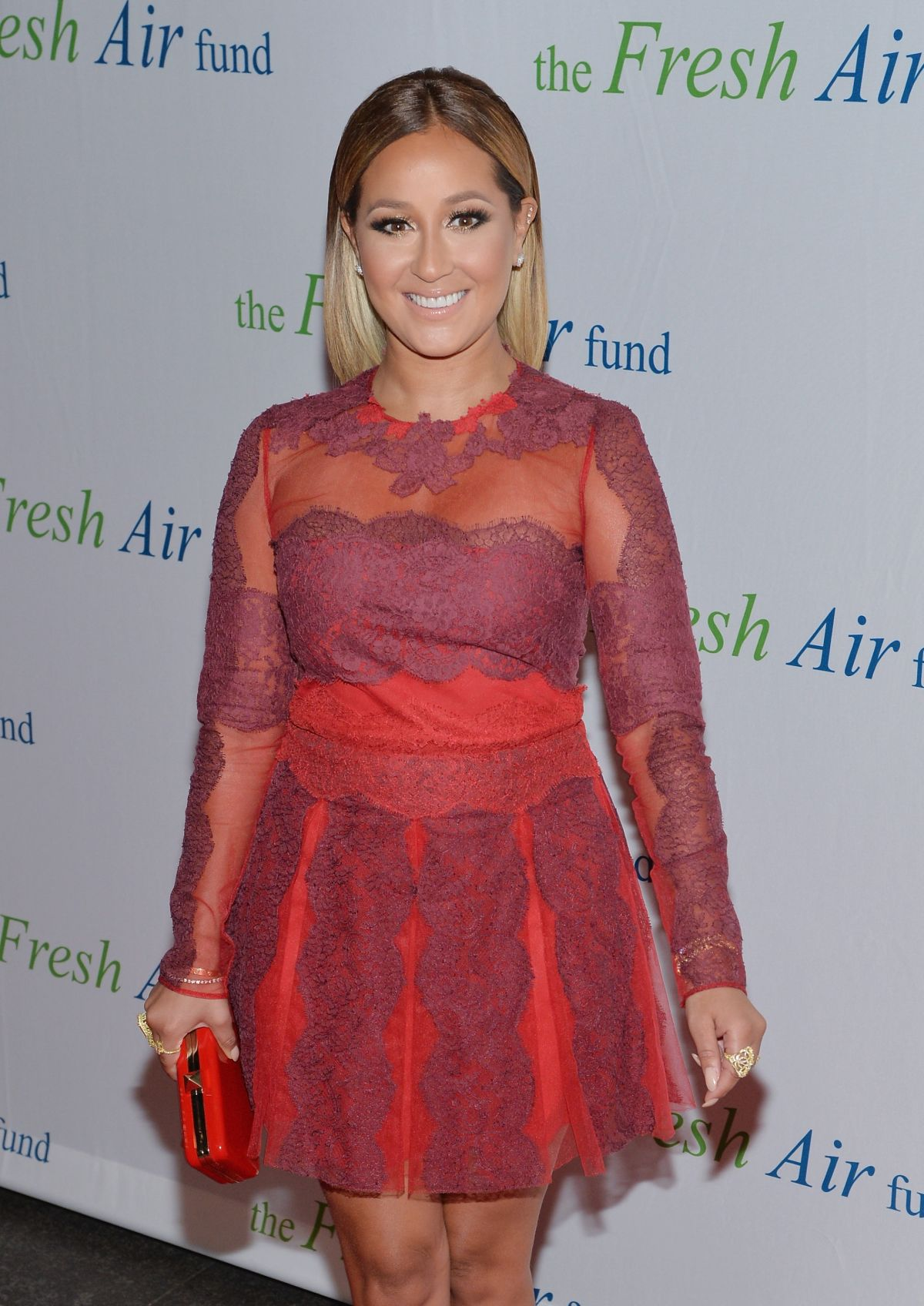 ADRIENNE BAILOM at Fresh Air Fund Honoring Our American Hero in New York