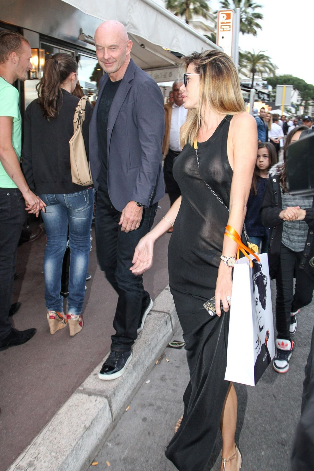 AIDA YESPICA Out and About in Cannes
