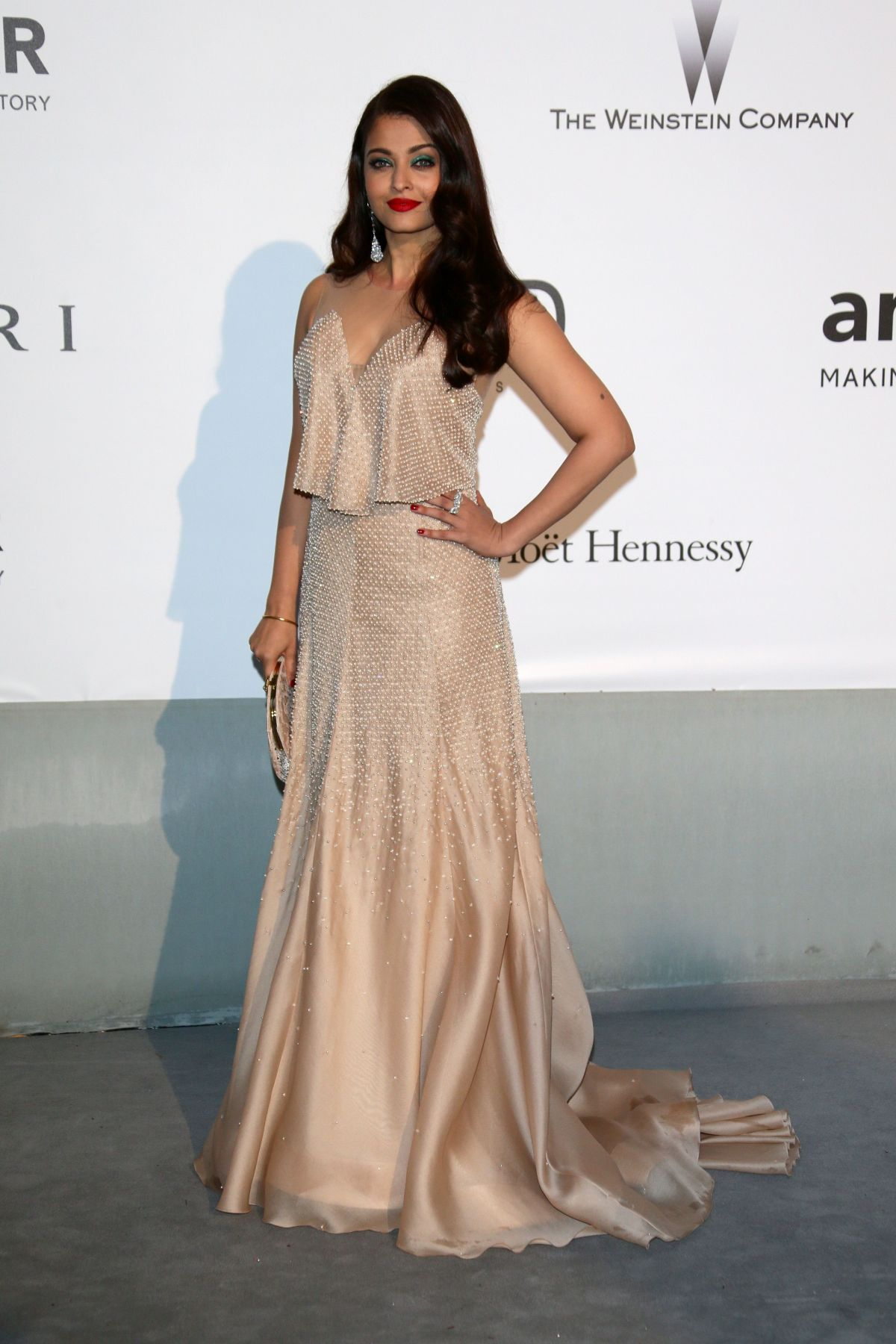 AISHWARYA RAI at AMFAR's 21st Cinema Against Aids Gala in Cap D'Antibes