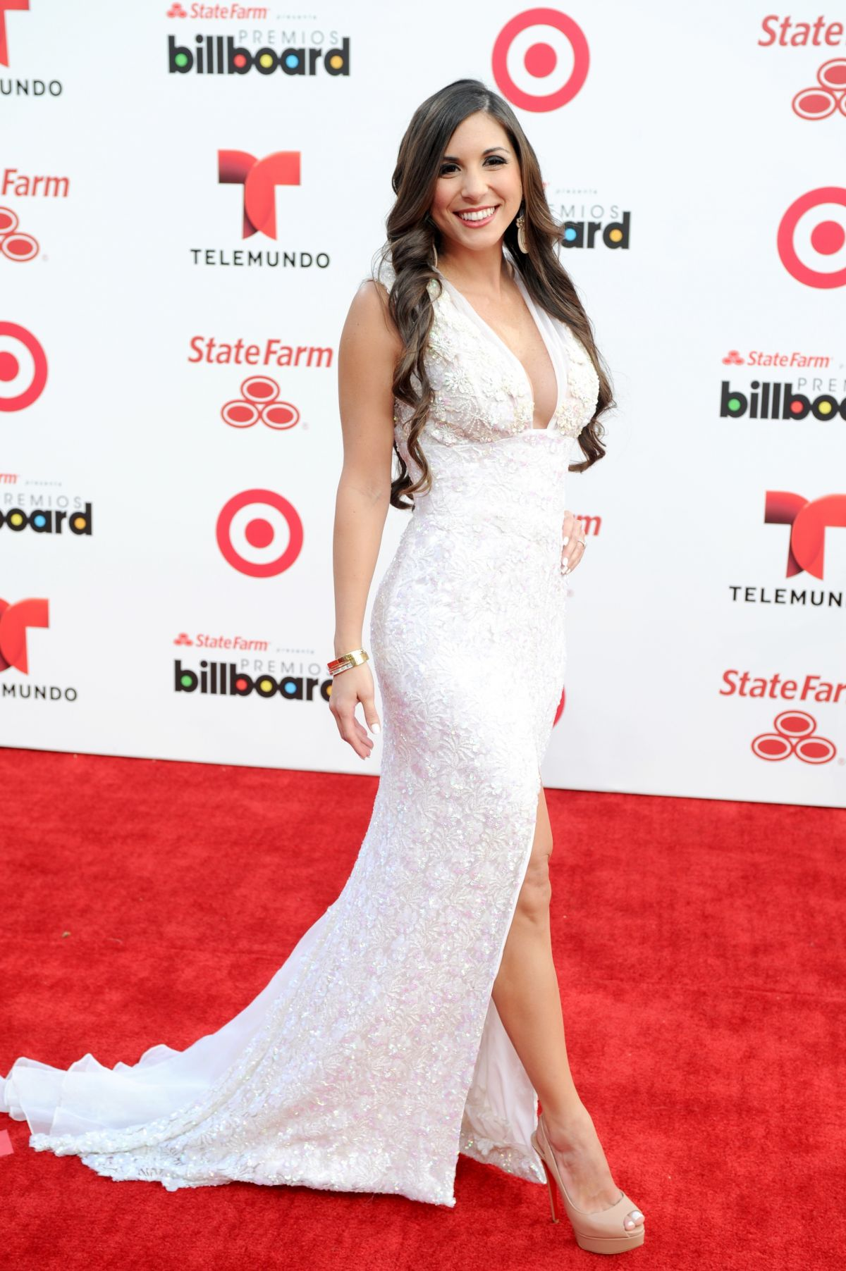 ALEXANDRA OLAVARRIA at 2014 Billboard Latin Music Awards in Miami