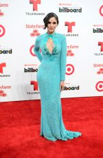 ALEXANDRA POMALES at 2014 Billboard Latin Music Awards in Miami