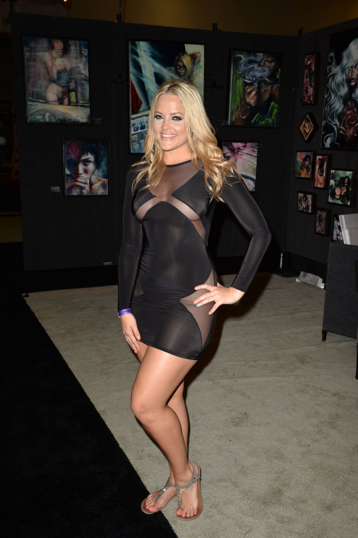 ALEXIS TEXAS at Exxxotica Expo 2014 in Florida
