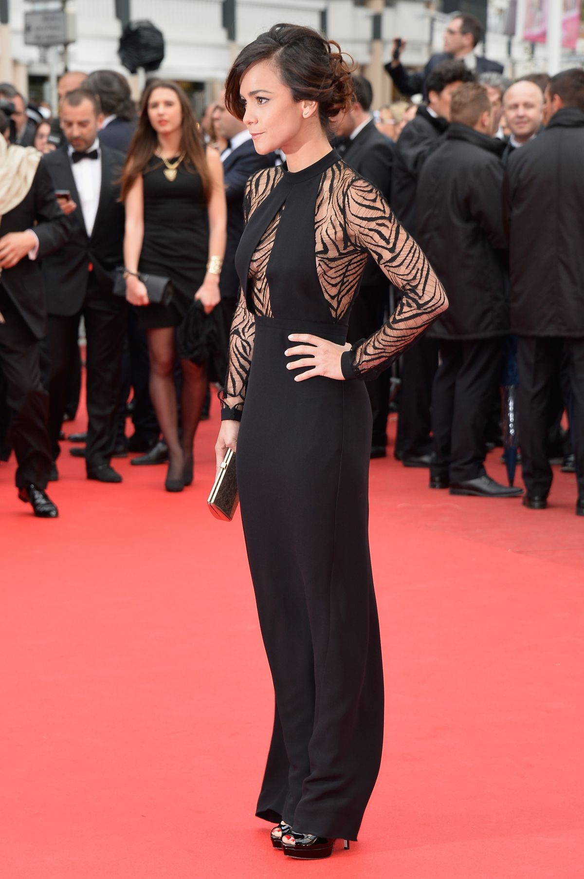 ALICE BRAGA at Foxcatcher Premiere at Cannes Film Festival