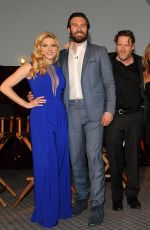 ALYSSA SUTHERLAND at Vikings Panel Discussion in Hollywood