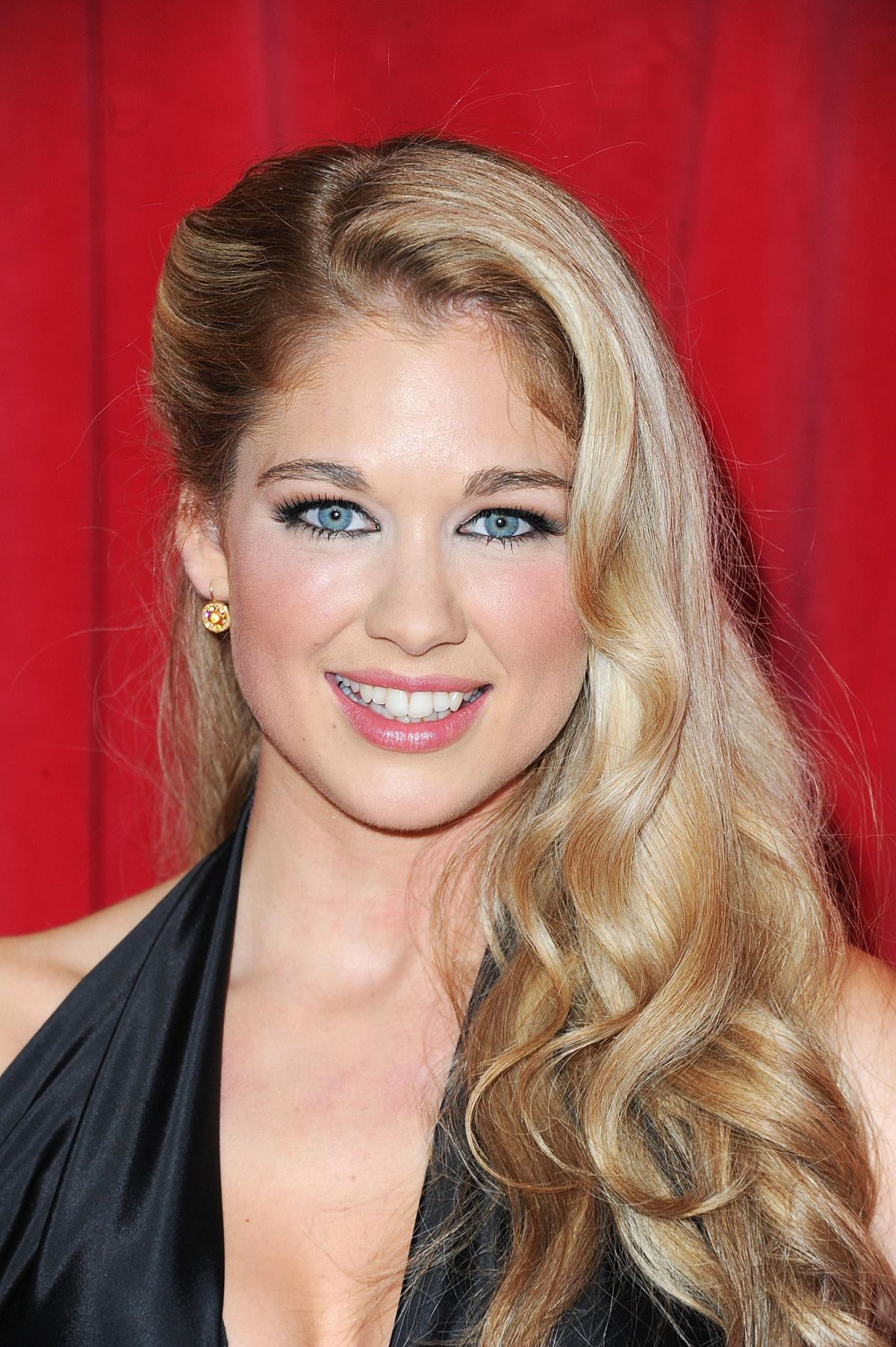AMANDA CLAPHAM at British Soap Awards 2014 in London
